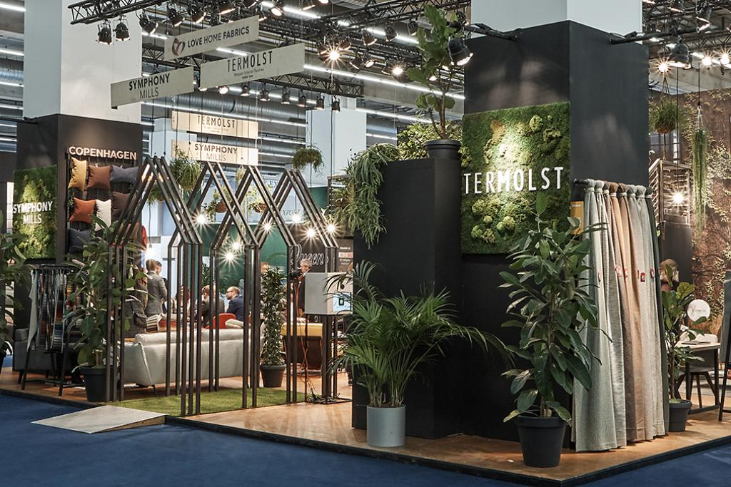 booth at heimtextil 2020